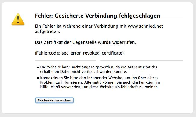 SSL-certificate-revoked